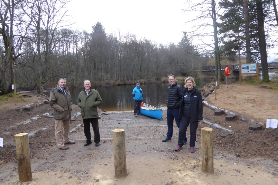 River access point in Aviemore has green engineering makeover